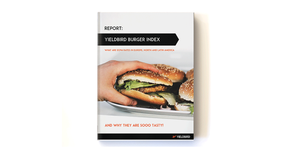 Report book1burger index ecpm yieldbird
