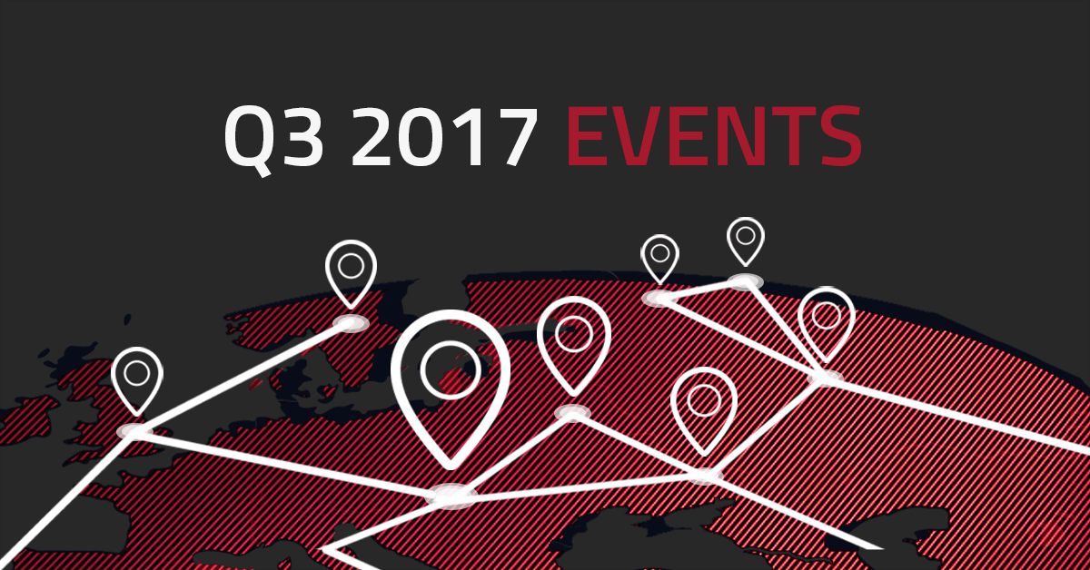 Q3 2017 Programmatic & digital events