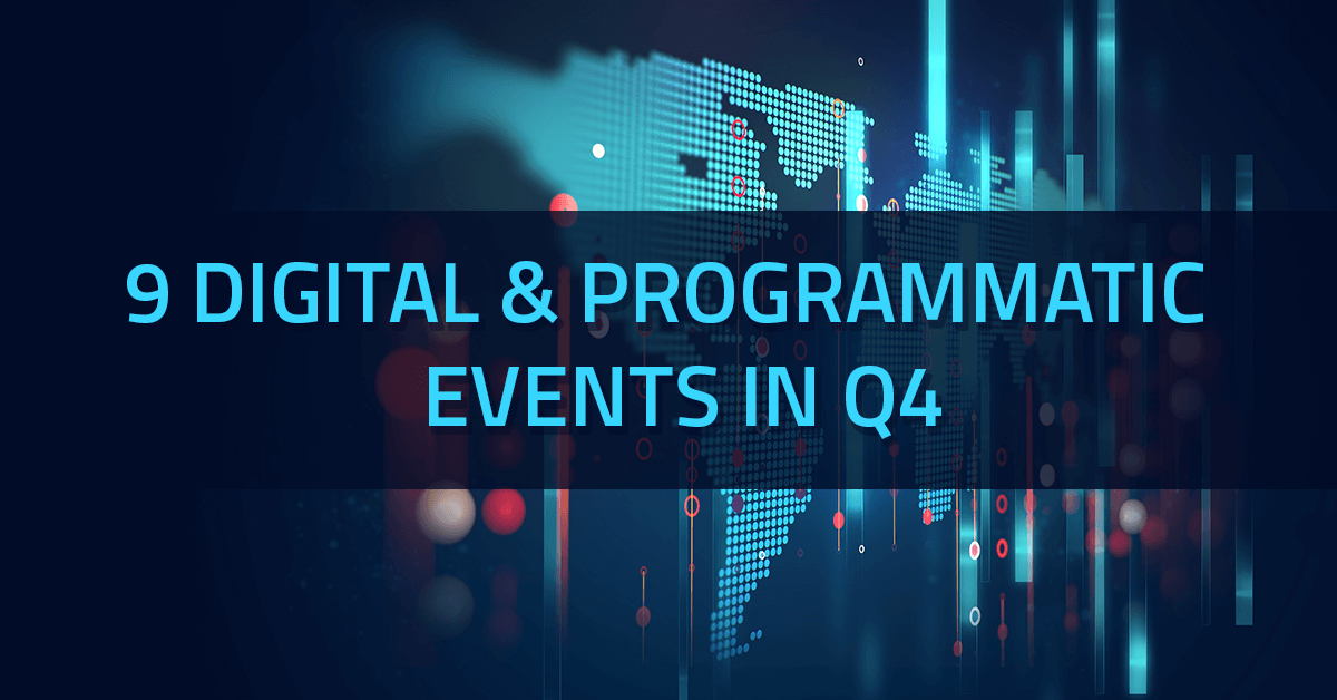 9 digital & programmatic events by Yieldbird