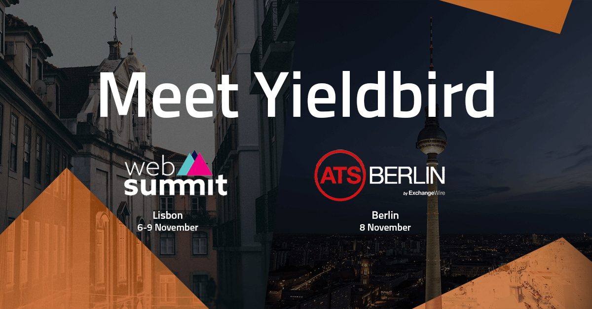 Meet Yieldbird at Web Summit or ATS Berlin