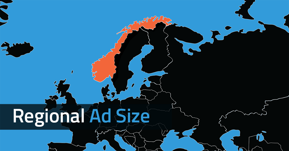 REGIONAL AD SIZES THAT COMPLEMENT YOUR PAGES by Yieldbird
