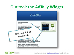 Adtaily widget by Yieldbird